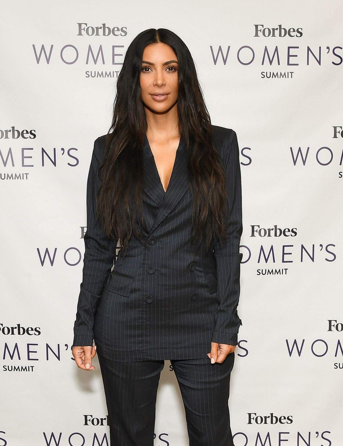 KIM KARDASHIAN at Forbes Women