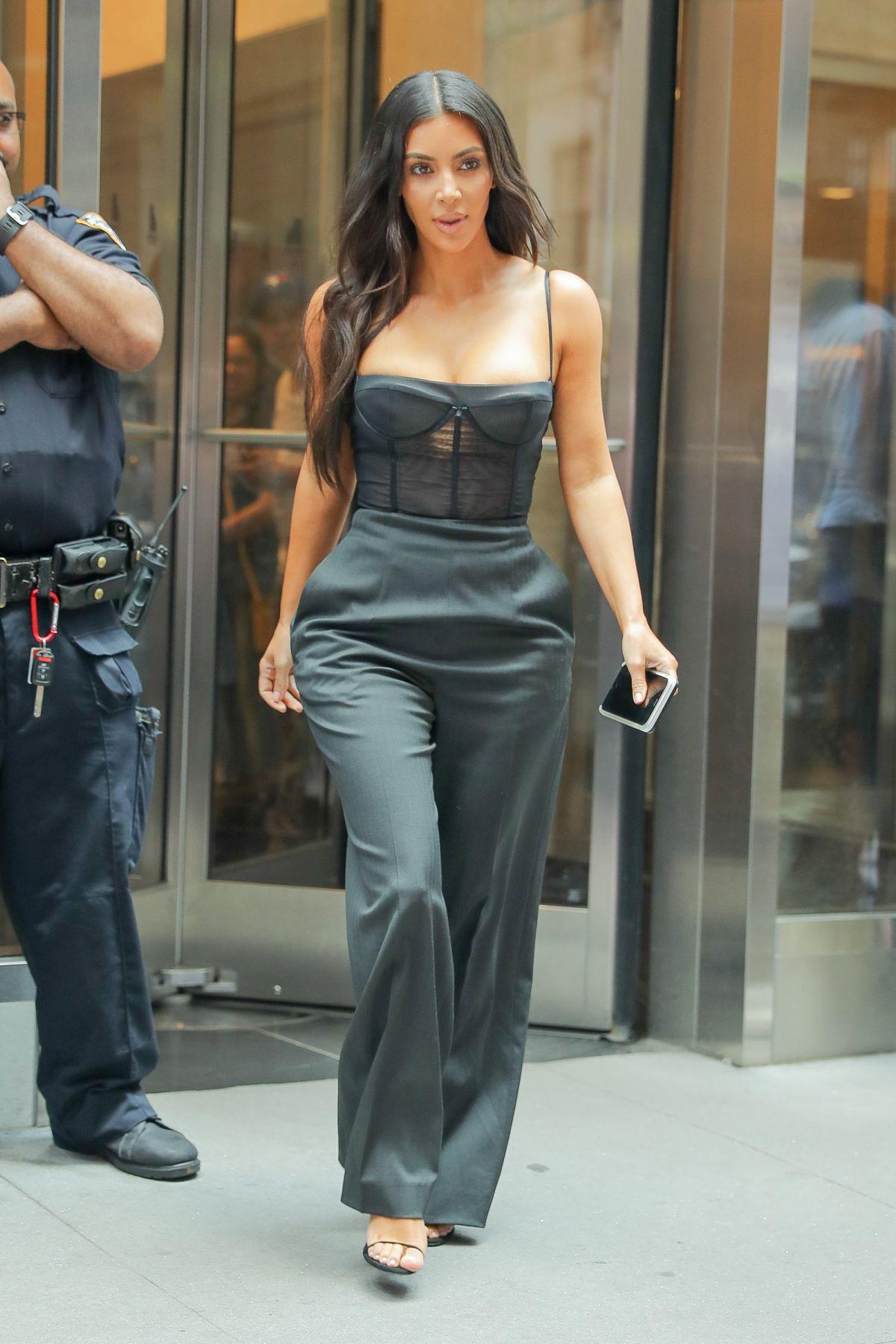 KIM KARDASHIAN Out in New York 06/14/2017 - HawtCelebs Kim Kardashian