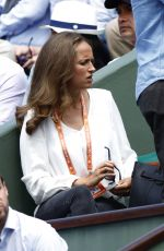 KIM SEARS at 2017 French Open Roland Garros in Paris 06/09/2017