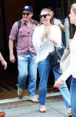 KIRSTEN DUNST and Jesse Plemons Leaves Their Hotel in New York 06/23/2017