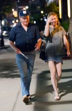 KIRSTEN DUNST and Jesse Plemons Night Out in New York 06/18/2017