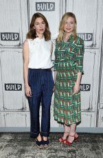 KIRSTEN DUNST and SOFIA COPPOLA at AOL Build Speaker Series in New York 06/21/2017