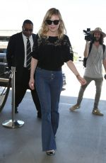KIRSTEN DUNST at LAX Airport in Los Angeles 06/14/2017