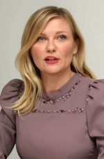 KIRSTEN DUNST at The Beguiled Press Conference in Beverly Hills 06/13/2017