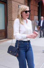 KIRSTEN DUSNT Leaves Her Hotel in New York 06/19/2017