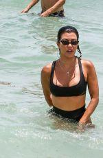 KOURTNEY KARDASHIAN in Bikini at a Beach in Miami 06/12/2017
