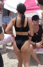KOURTNEY KARDASHIAN in Bikini at a Beach in Miami 06/12/2017