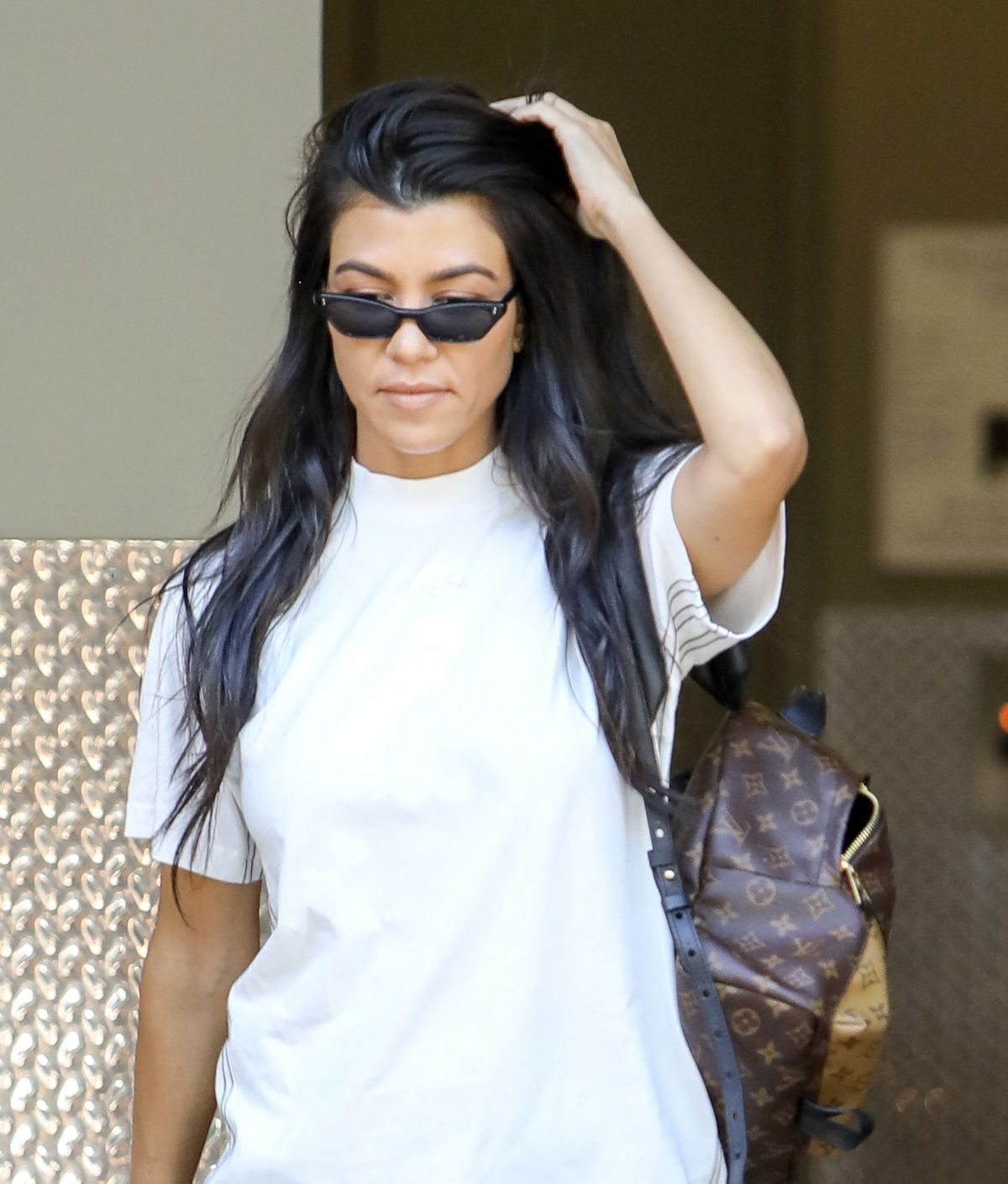 KOURTNEY KARDASHIAN Out and About in Calabasas 06/27/2017 ...
