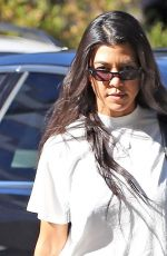 KOURTNEY KARDASHIAN Out and About in Calabasas 06/27/2017