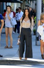 KOURTNEY KARDASHIAN Out in Beverly Hills 06/16/2017