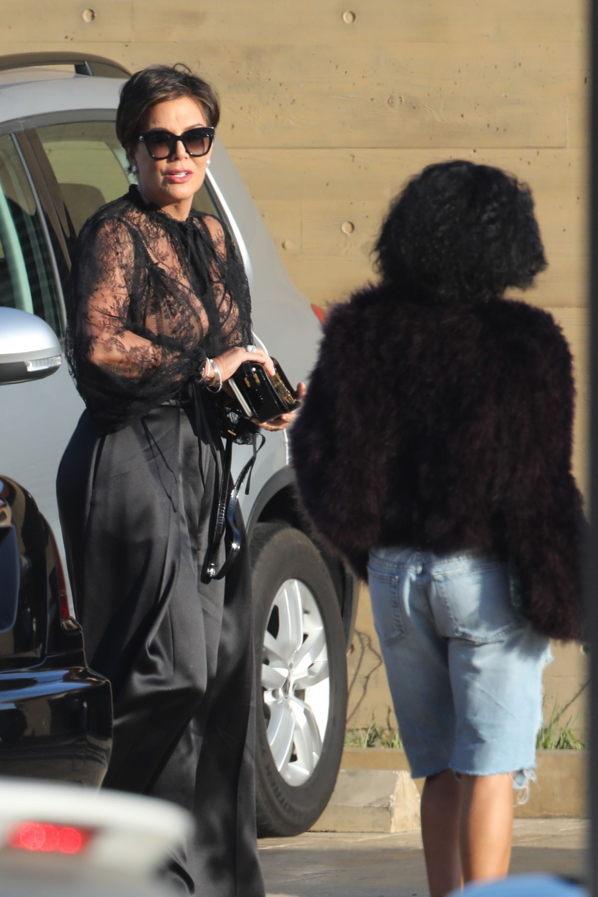 KRIS JENNER and JADA PINKETT SMITH Out for Lunch at Nobu in Malibu 06/02/2017