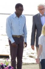 KRISTEN BELL on the Set of The Good Place in Malibu 06/14/2017