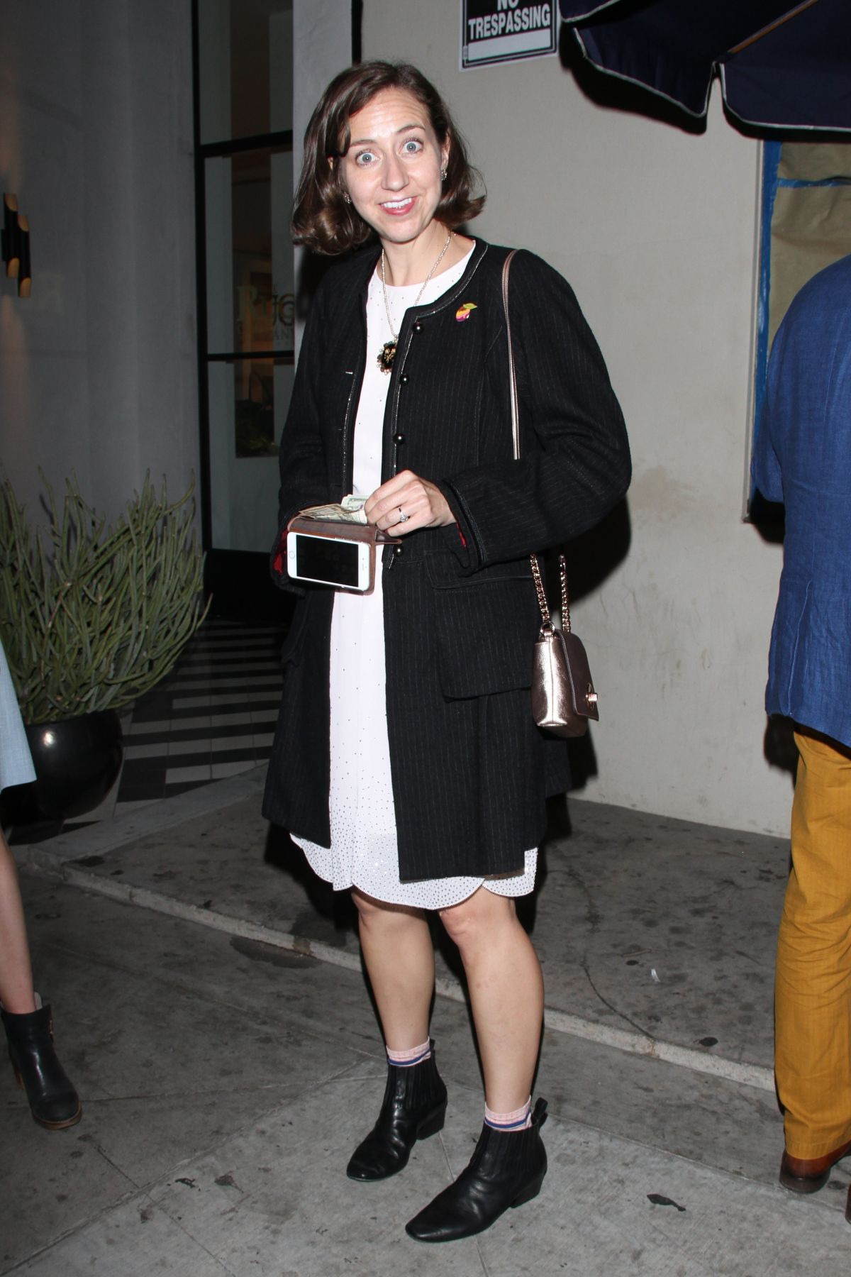 KRISTEN SCHAAL at Catch LA in West Hollywood 06/13/2017