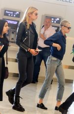 KRISTEN STEWART and STELLA MAXWELL at Orly Airport in Paris 06/14/2017