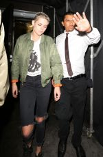 KRISTEN STEWART and STELLA MAXWELL Leaves Nice Guy in West Hollywood 06/28/2017
