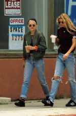 KRISTEN STEWART and STELLA MAXWELL Out for Coffee in West Hollywood 06/01/2017