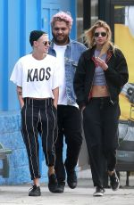KRISTEN STEWART and STELLA MAXWELL Out for Lunch in Studio City 06/08/2017