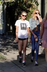 KRISTEN STEWART and STELLA MAXWELL Out in Los Angeles 06/26/2017