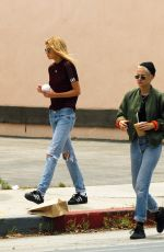 KRISTEN STEWART and STELLA MAXWELL Out in West Hollywood 06/01/2017