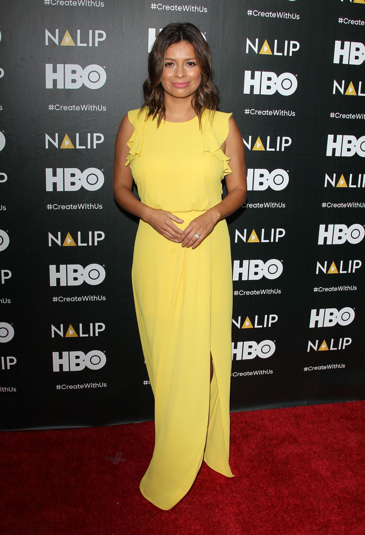 KRISTINA GUERRERO at Nalip Latino Media Awards in Los Angeles 06/24/2017