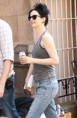 KRYSTEN RITTER on the Set of Jessica Jones Season 2 in New York 06/14/2017