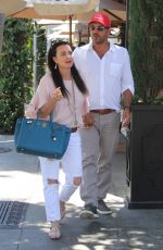 KYLE RICHARDS and Mauricio Umansky at Il Pastaio in Beverly Hills 06/25/2017