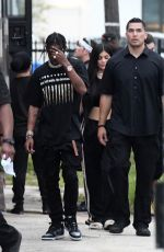 KYLIE JENNER and Travis Scott Out and About in Miami 06/06/2017
