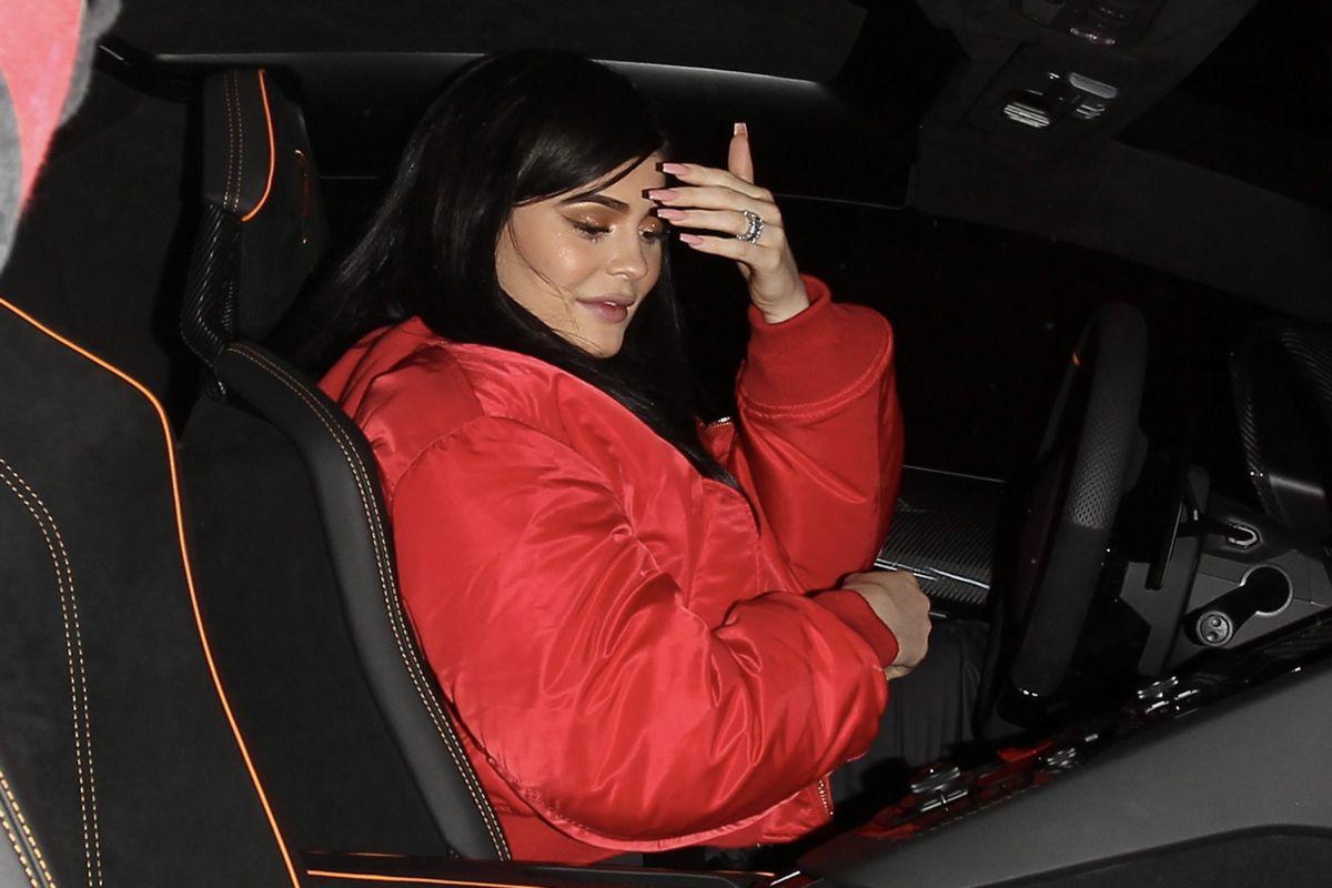 KYLIE JENNER Arrives at 1Oak Nightclub in West Hollywood 06/22/2017