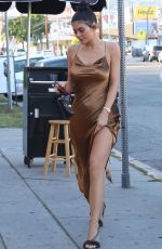 KYLIE JENNER Arrives at The Nice Guy in Hollywood 06/16/2017
