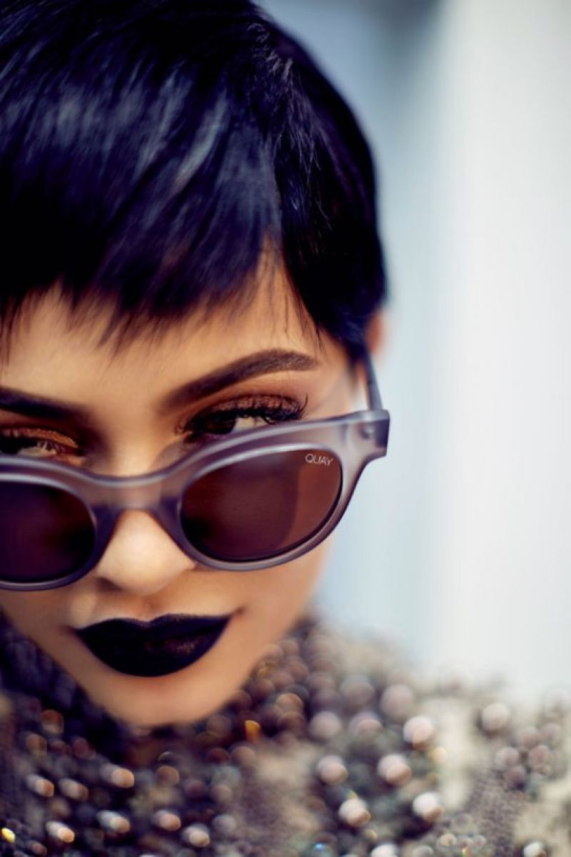 KYLIE JENNER for Quay Australia Sunglasses, June 2017