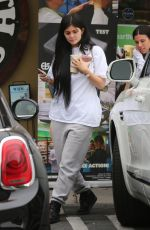 KYLIE JENNER Leaves Earth Bar in West Hollywood 06/08/2017
