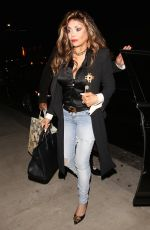 LA TOYA JACKSON Arrives at Tao in Hollywood 06/09/2017