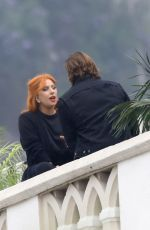 LADY GAGA on the Set of A Star is Born in Los Angeles 06/05/2017