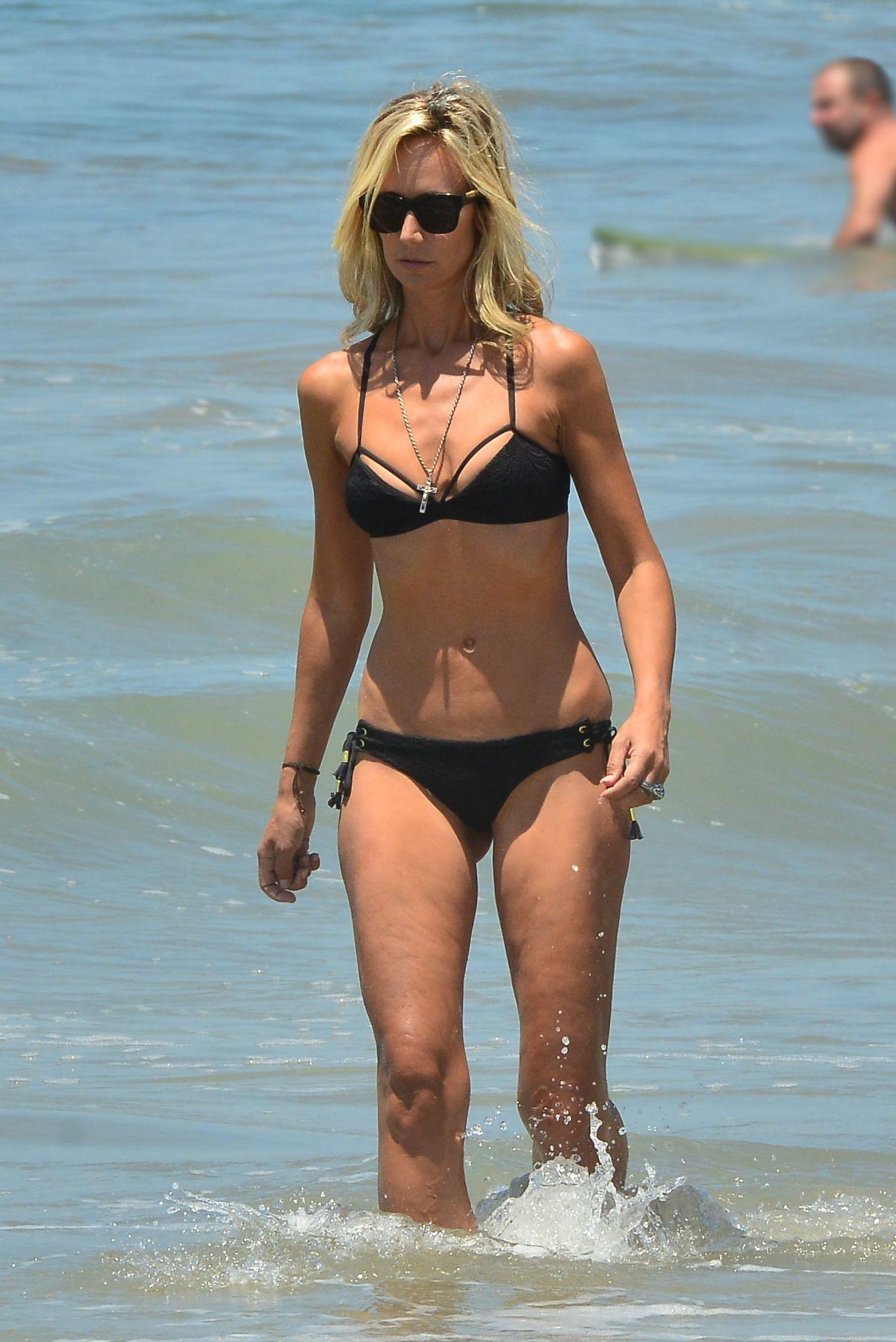 LADY VICTORIA HERVEY in Bikini at a Beach in Santa Monica