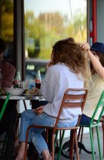 LANA DEL REY Out for Lunch with Friends in Los Angeles 06/14/2017
