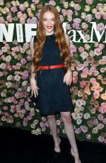 LARSEN THOMPSON at Women in Film Max Mara Face of the Future Reception in Los Angeles 06/12/2017