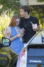 LARSEN THOMPSON Leaves Sunlife Organics in Los Angeles 06/20/2017