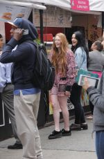 LARSEN THOMPSON Out and About in New York 05/30/2017