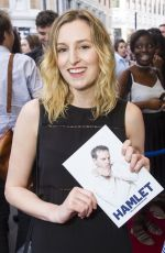 LAURA CARMICHAEL at Hamlet Play in London 06/15/2017