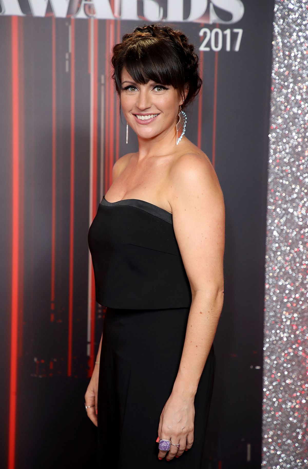 LAURA NORTON at British Soap Awards in Manchester 06/03/2017