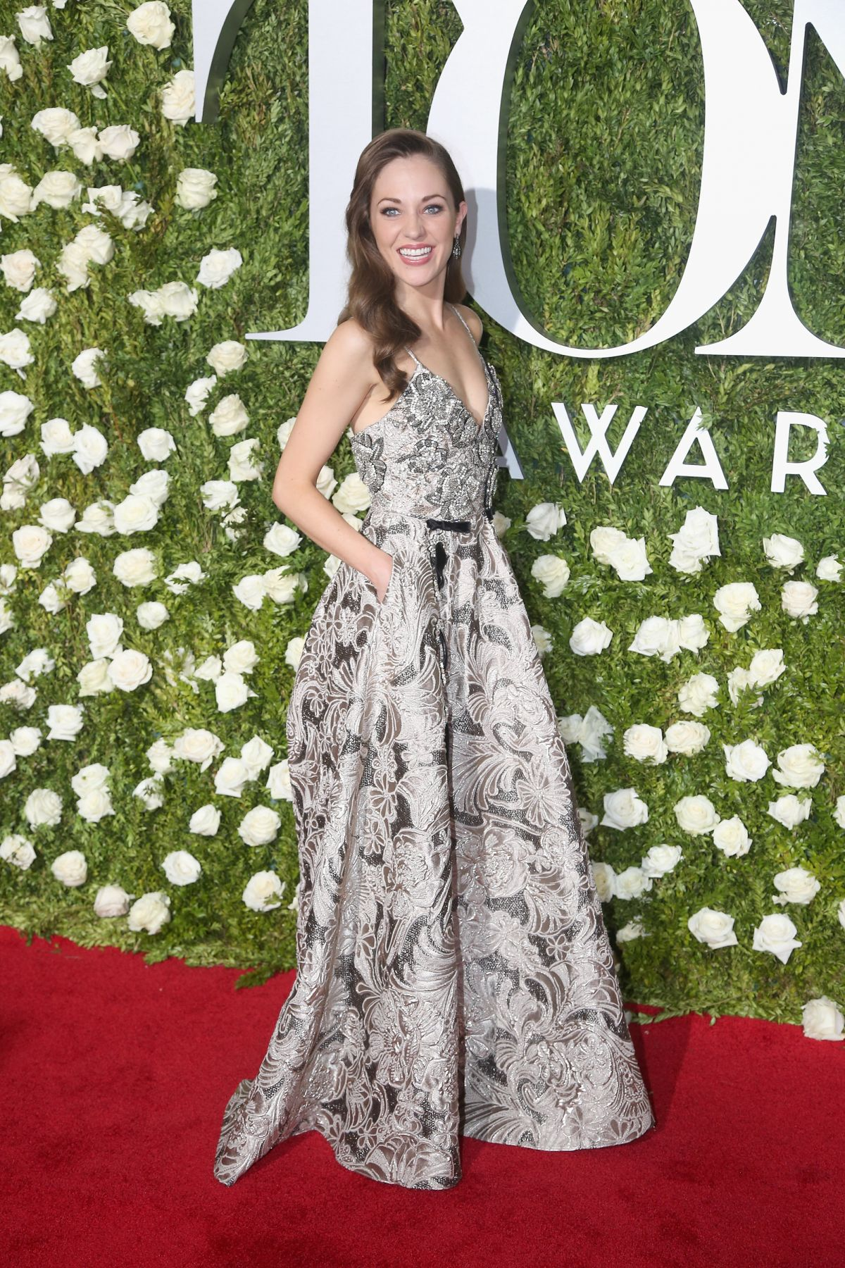 LAURA OSNES at Tony Awards 2017 in New York 06/11/2017