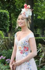 LAURA WHITMORE at Royal Ascot Races in Berkshire 06/23/2017