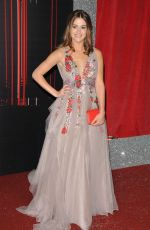 LAUREN MCQUEEN at British Soap Awards in Manchester 06/03/2017