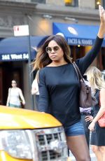 LAVERNE COX Out and Aboit in New York 06/13/2017