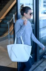 LEA MICHELE at LAX Airport in Los Angeles 06/20/2017