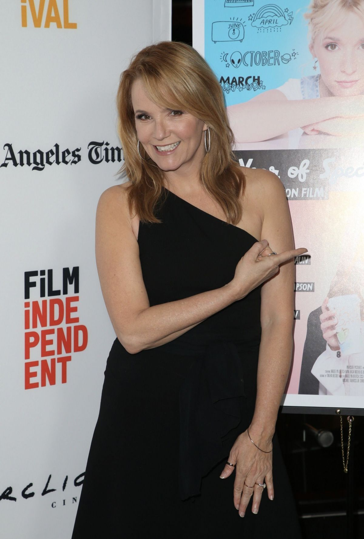 LEA THOMPSON at The Year of Spectacular Men Premiere at LA Film Festival 06/16/2017