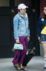 LENA DUNHAM Out and About in New York 06/04/2017