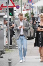 LENA GERCKE Out and About in Berlin 06/13/2017