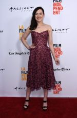 LENA HALL at Becks Premiere at LA Film Festival in Culver City 06/15/2017