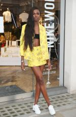 LEOMIE ANDERSON Celebrates Her Campaign Launch with Nike in London 06/13/2017